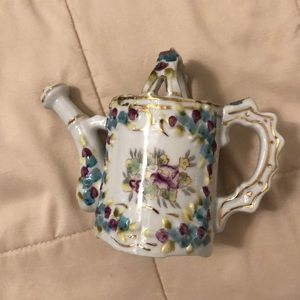 Other - Vintage Japan painted porcelain watering can